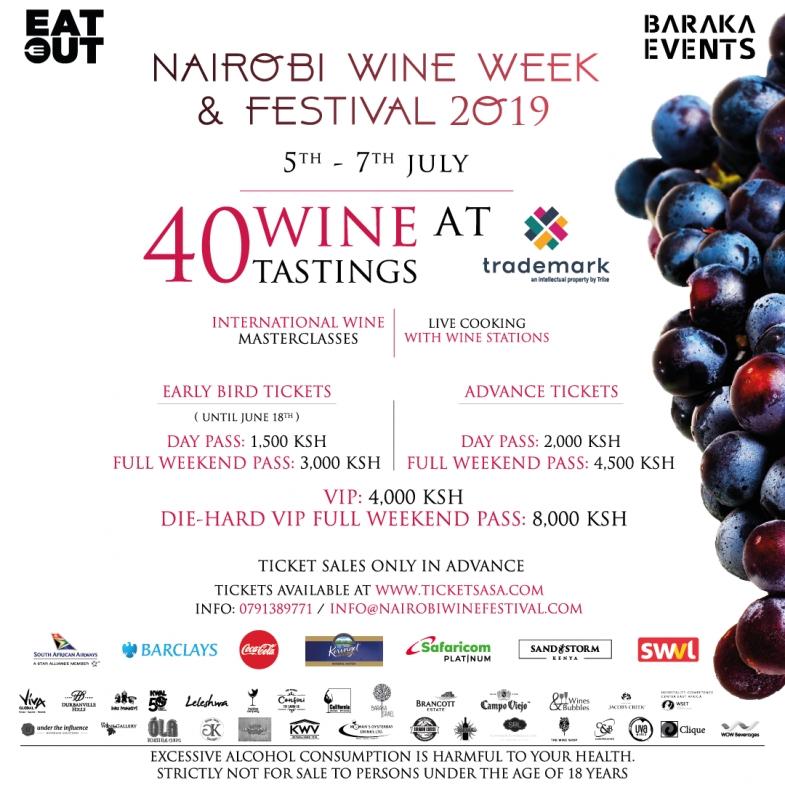 Nairobi Wine Week & Festival 2019