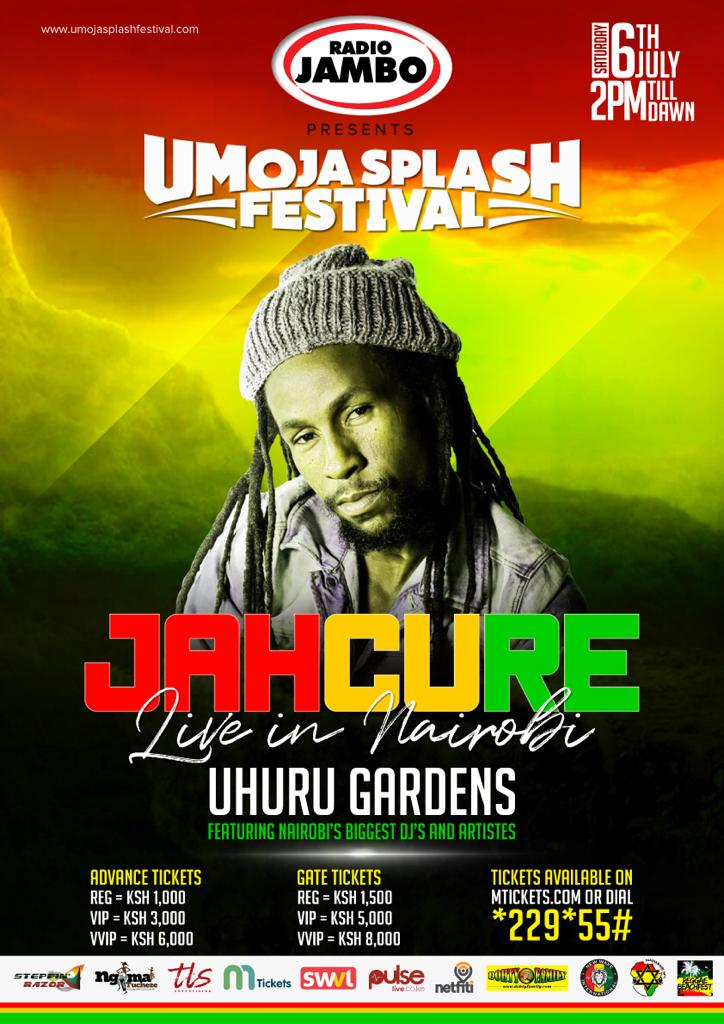 Jah Cure Live In Nairobi