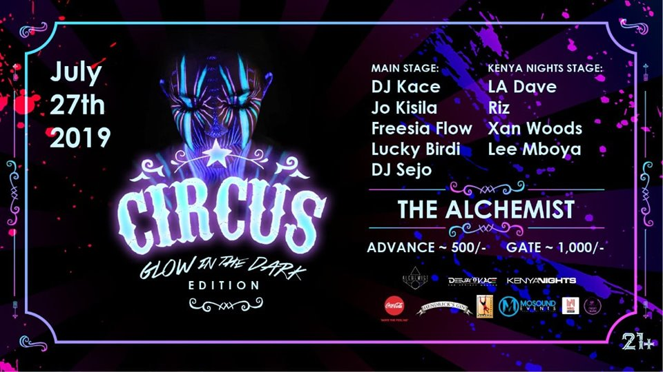 Circus: Glow In The Dark Edition