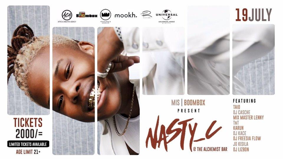 MIS & Boombox Present: Nasty C Live