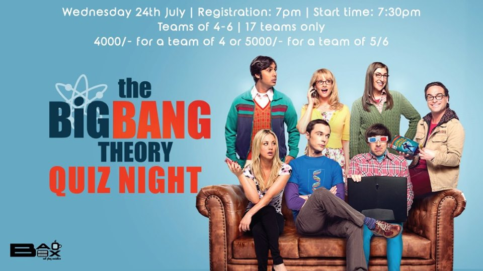 The Big Bang Theory Quiz Night