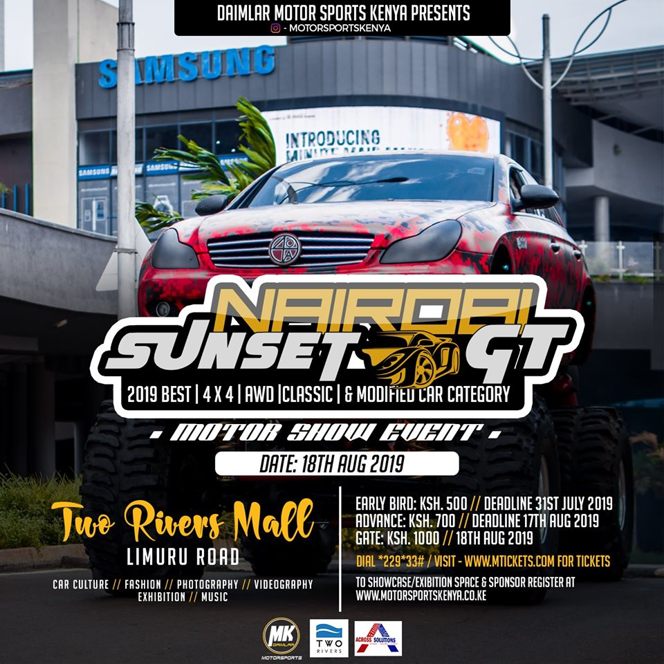 Nairobi Sunset GT - Best 4 X 4 AWD Classic & Modified Cars