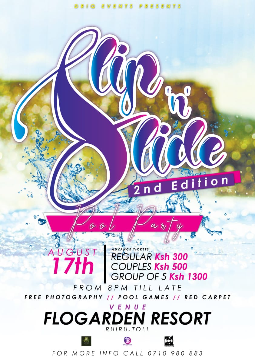 Slip 'n' Slide 2nd edition-Driq Events