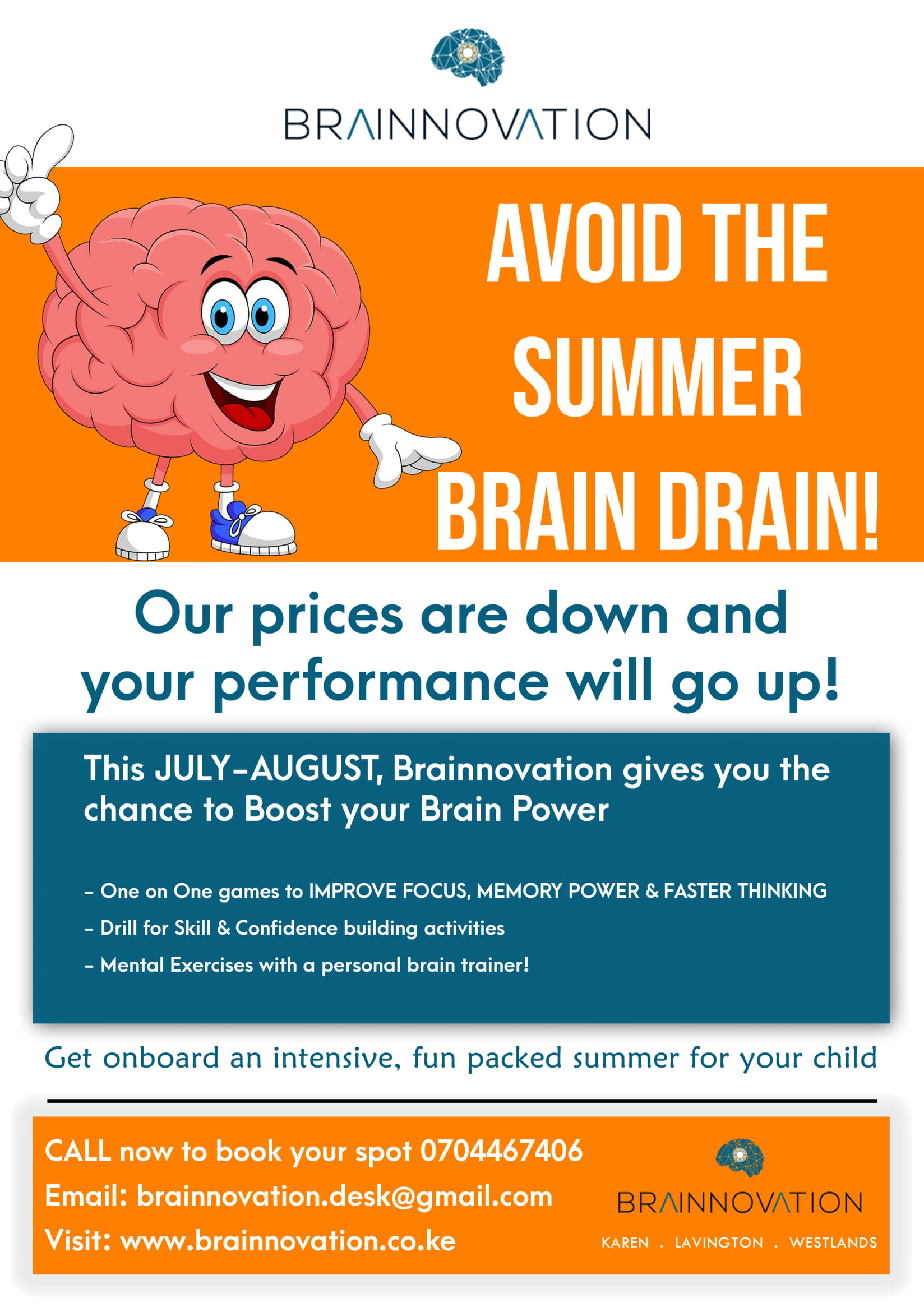 Brainnovation Summer Camp