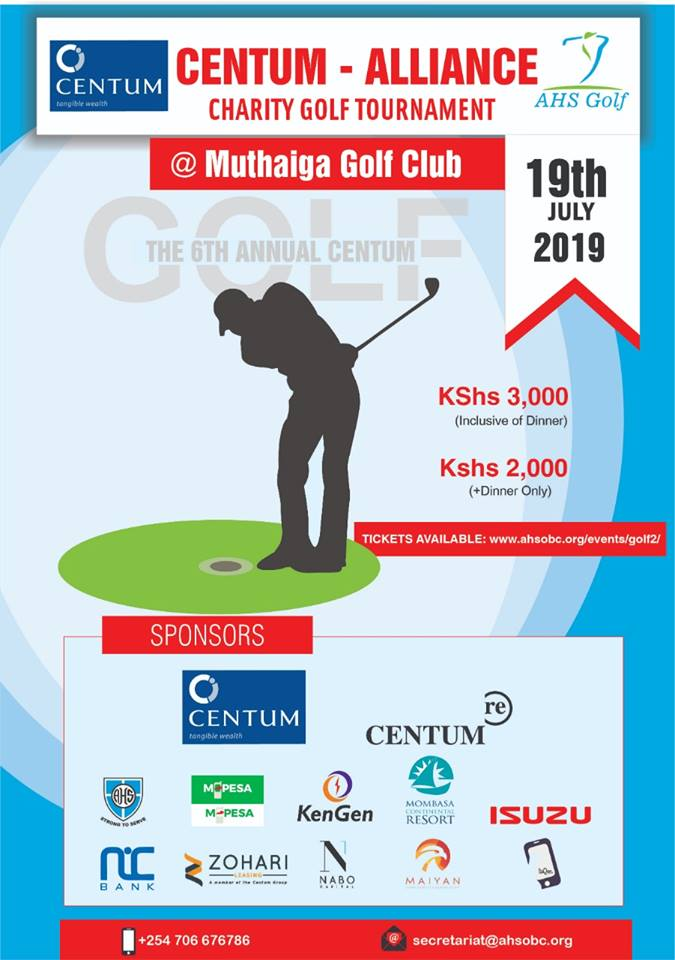 the 6th annual Centum – Alliance Charity Golf Tournament