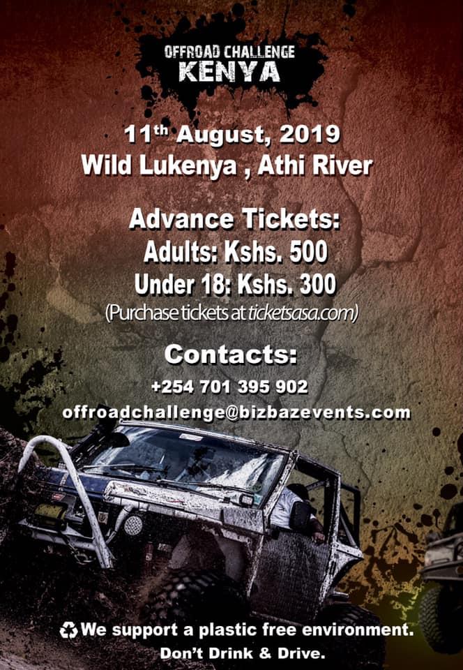 Offroad Challenge Kenya August 2019