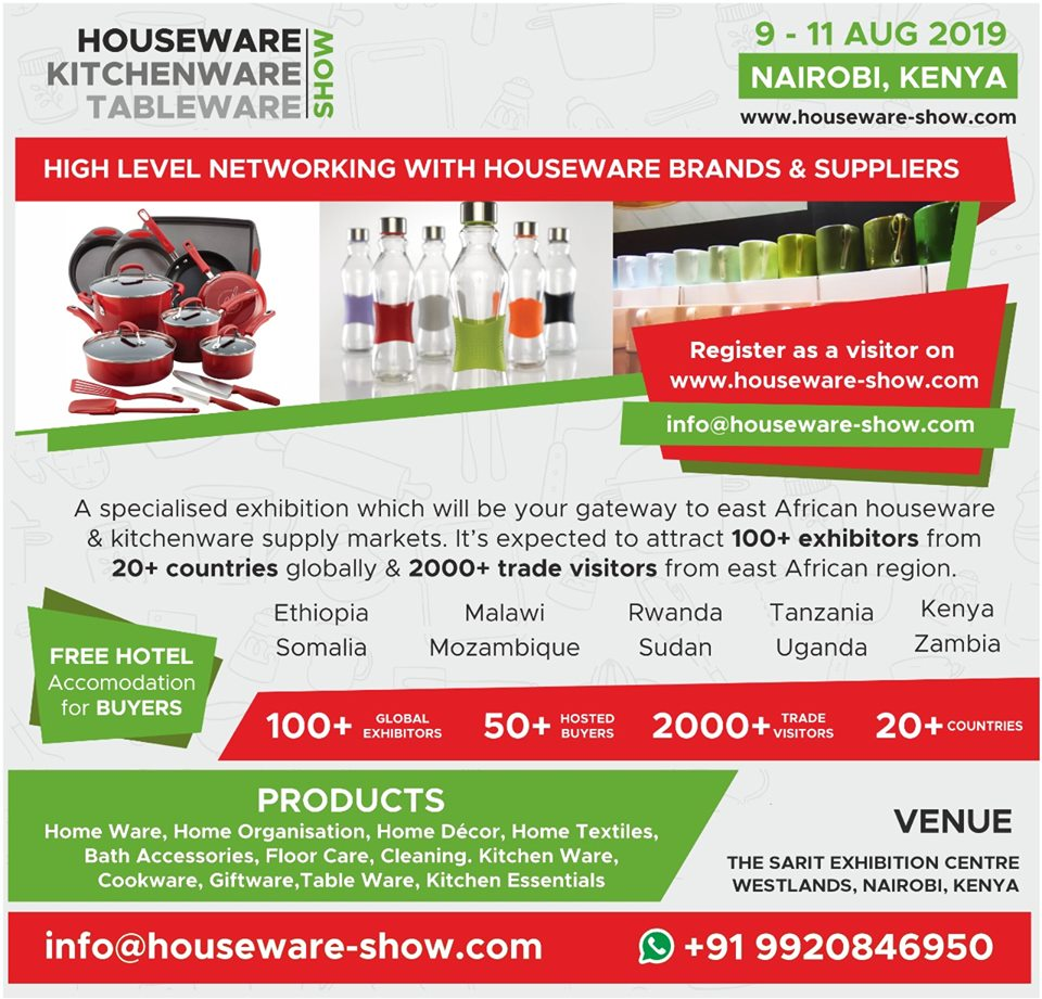 Houseware, Kitchenware & Tableware Show 2019