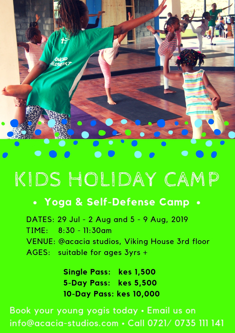 Kids Holiday Yoga & Self-defense Camp