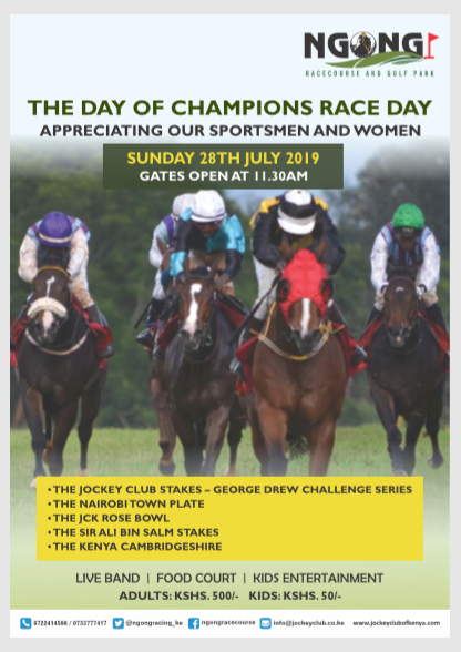 The Day of Champions Race Day