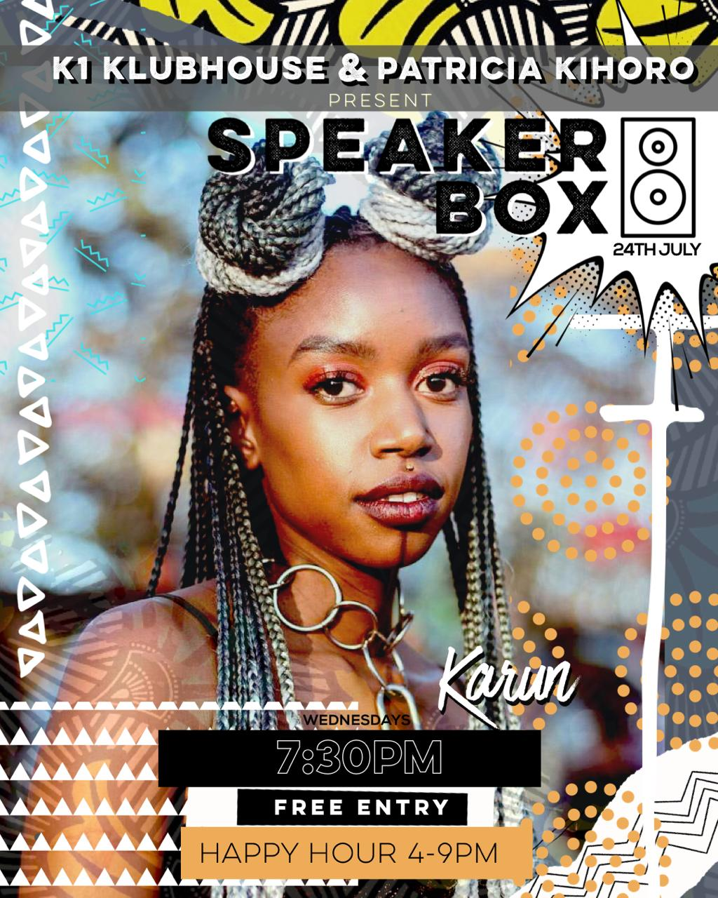 Speaker Box with Karun