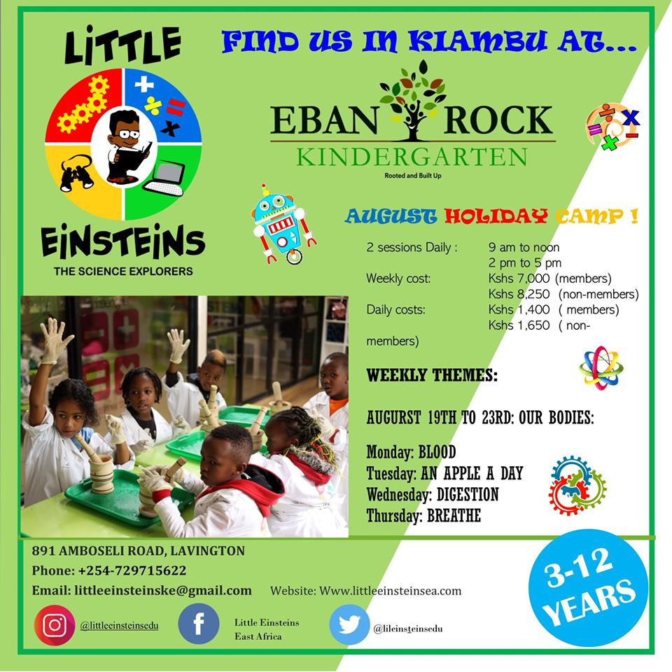 Little Einsteins August Holiday Summer Camp