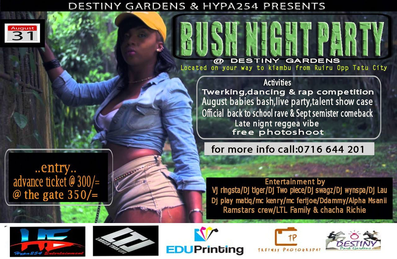 Bush Night Party