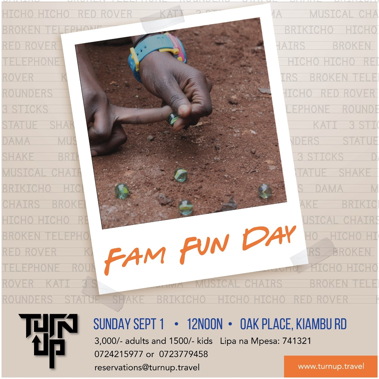 TurnUp Travel Family Fun Day