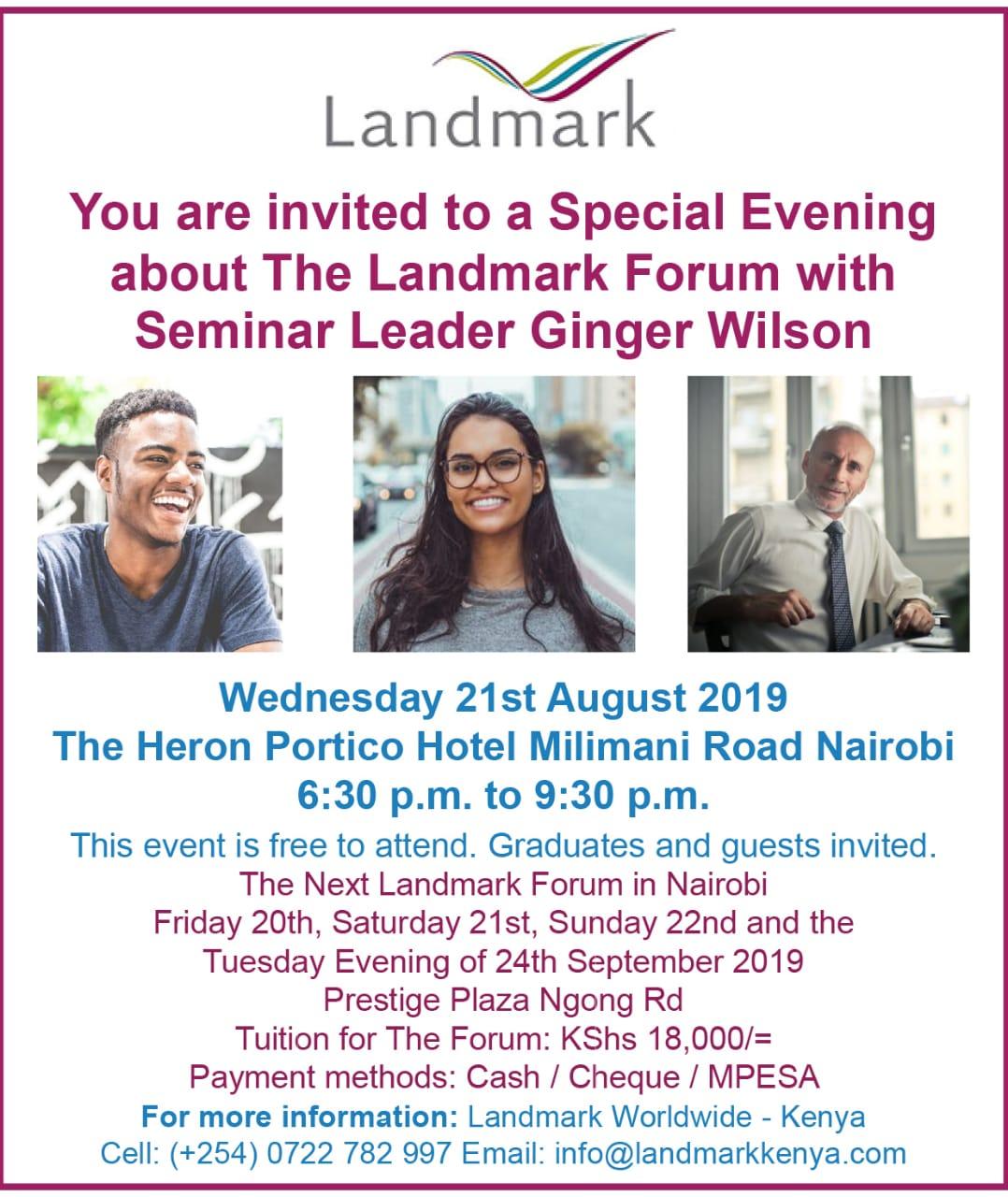 The Landmark Forum