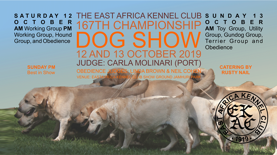 East Africa Kennel Club 167th Championship Dog Show