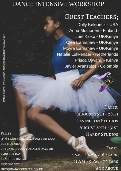 Dance Centre Intensive Workshop