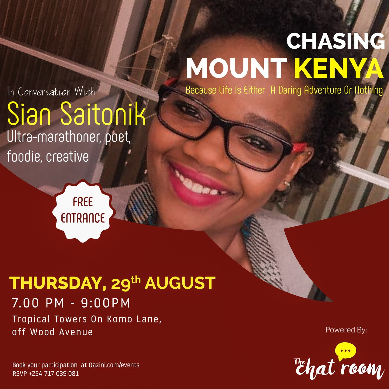 The Chat Room: Chasing Mount Kenya