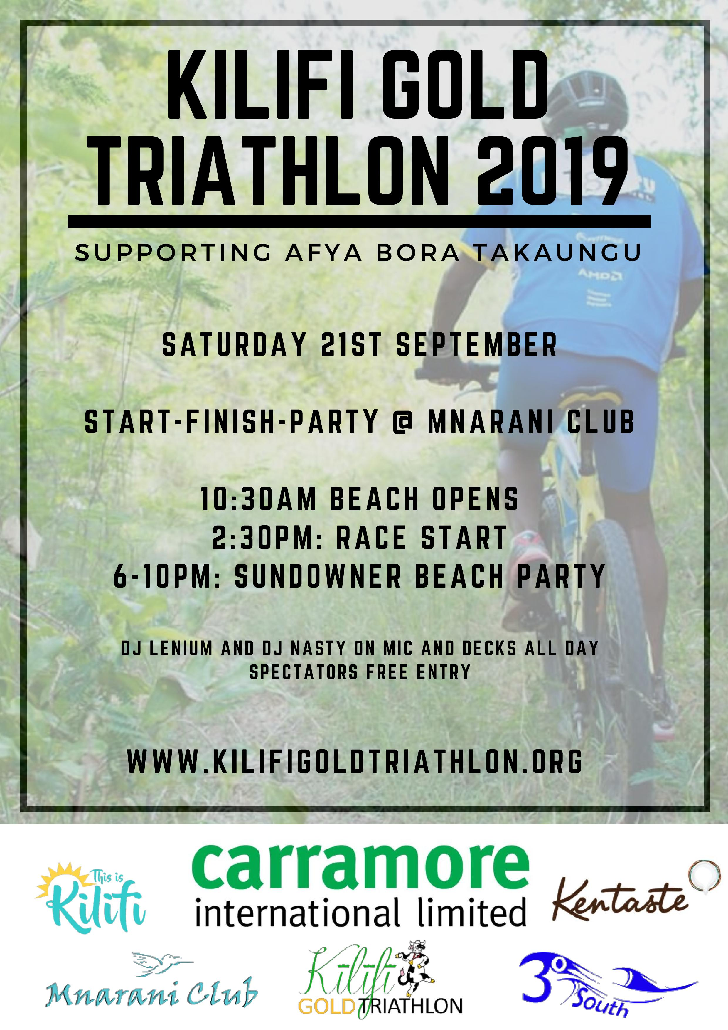 Kilifi Gold Triathlon
