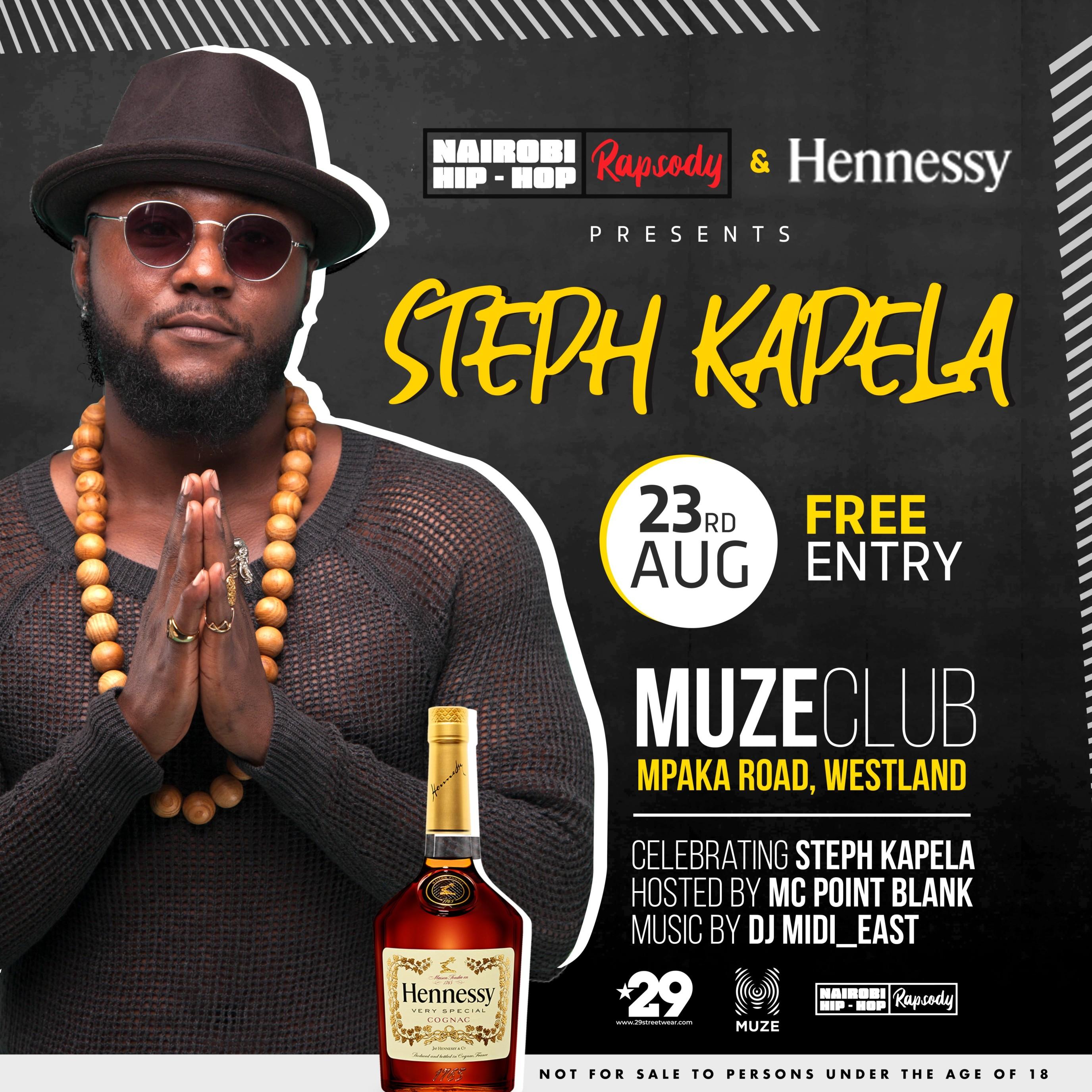 The Hennessy Artistry presesnts Steph Kapela