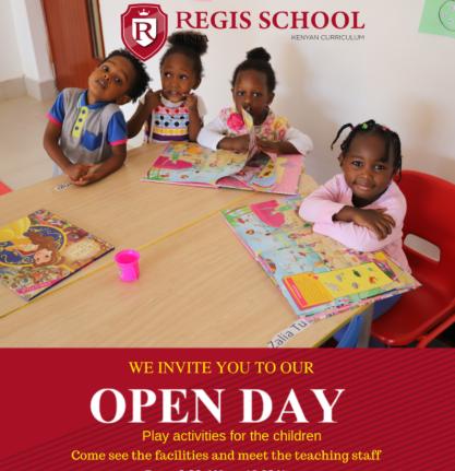 Regis School Open Day
