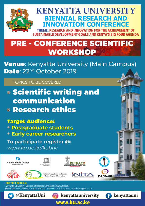 Kenyatta University Biennial research and innovation conference