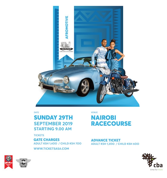 CBA Africa Concours d'Elegance 2019
