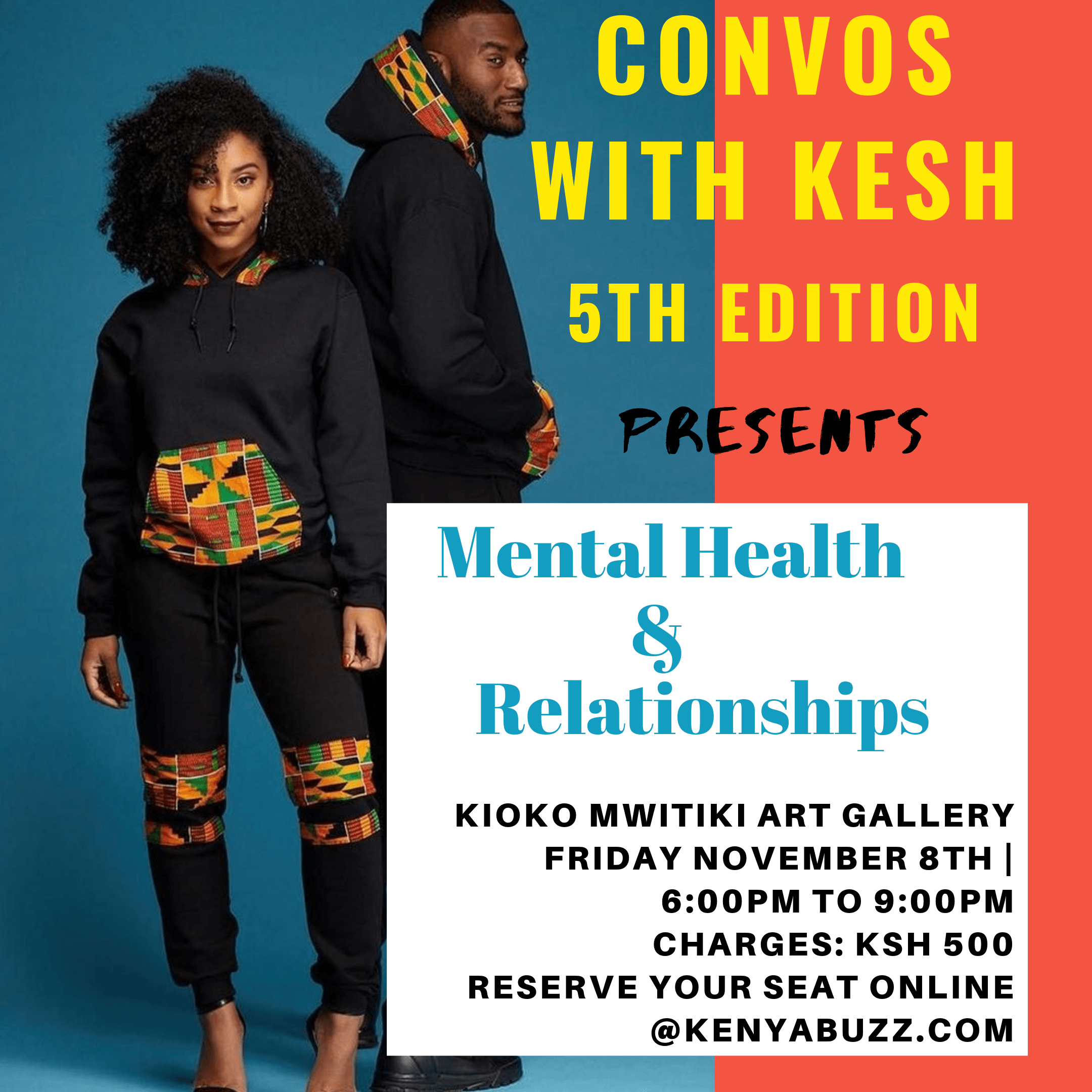 Convos With Kesh 5th edition: Mental Health &Relationships
