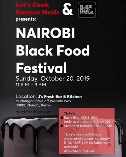 Nairobi Black Food Festival