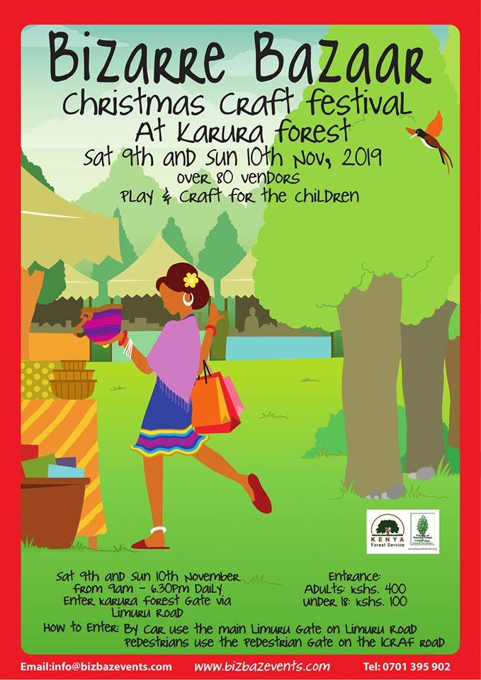 Bizarre Bazaar Christmas Craft Festival - 2019