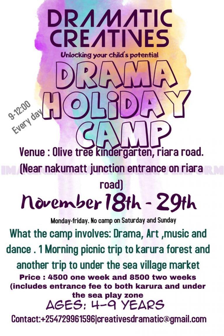 Dramatic Creatives Drama Holiday Camp