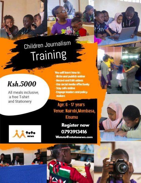 Children Journalism Training
