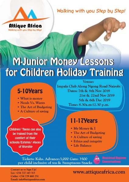 Children Finance Literacy Club Holiday Bootcamp