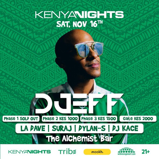 Kenya Nights pres. DJEFF