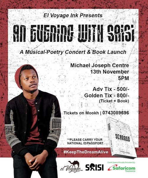 An Evening with Saisi - A Musical-Poetry Concert & Book Launch