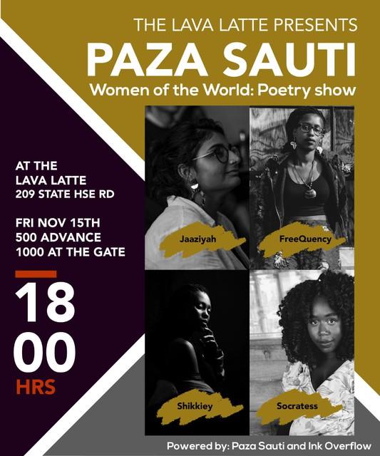 Paza Sauti: Women of the World Poetry Show