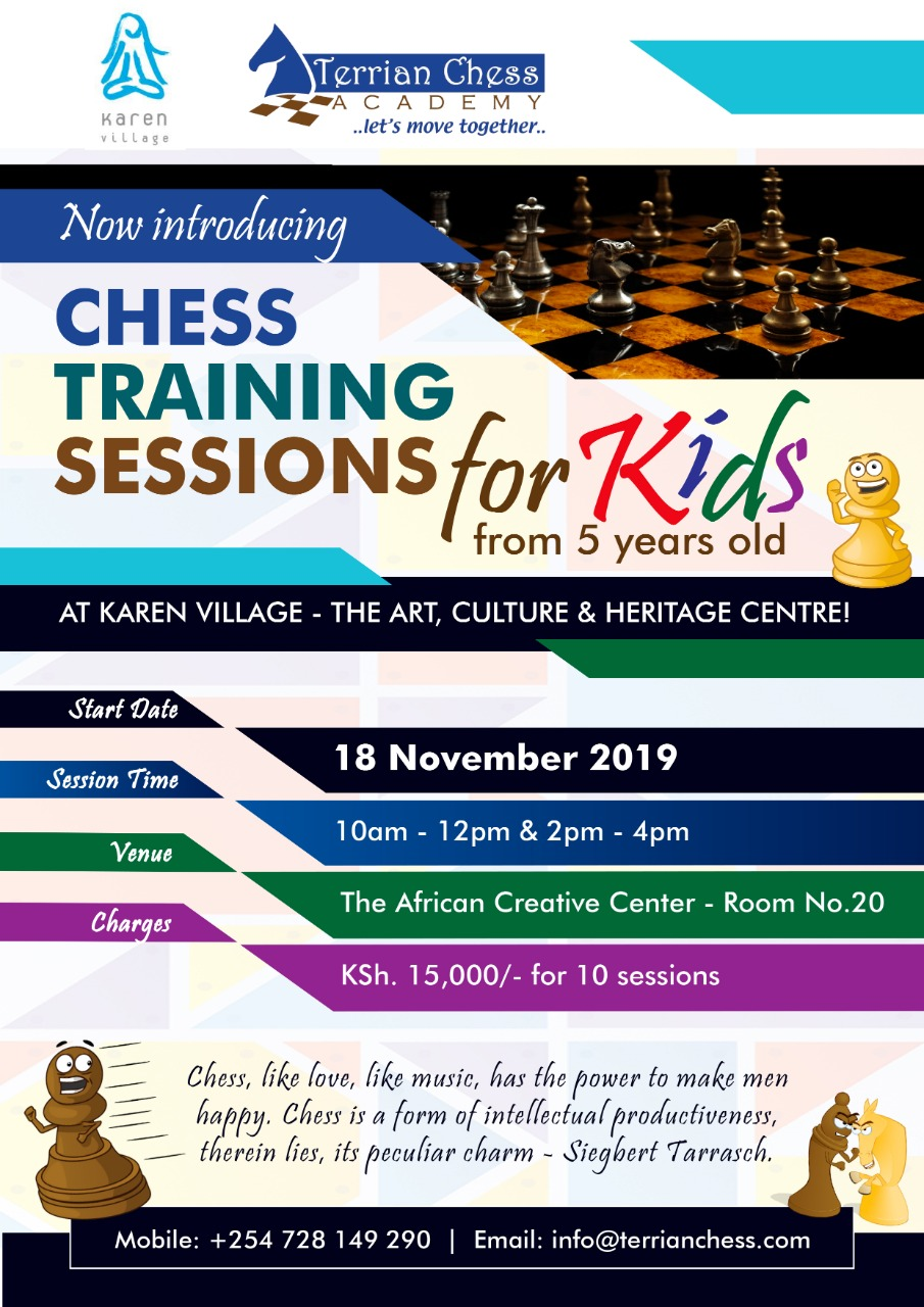 Chess Training Session
