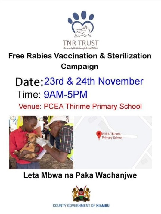 Free Rabies Vaccination & Sterilization Campaign