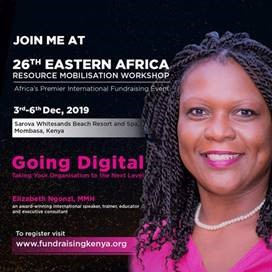 26th Eastern Africa Resource Mobilisation Workshop - Going Digital
