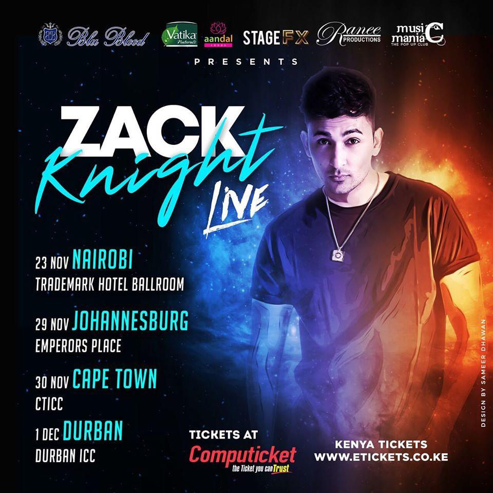 Zack Knight Live