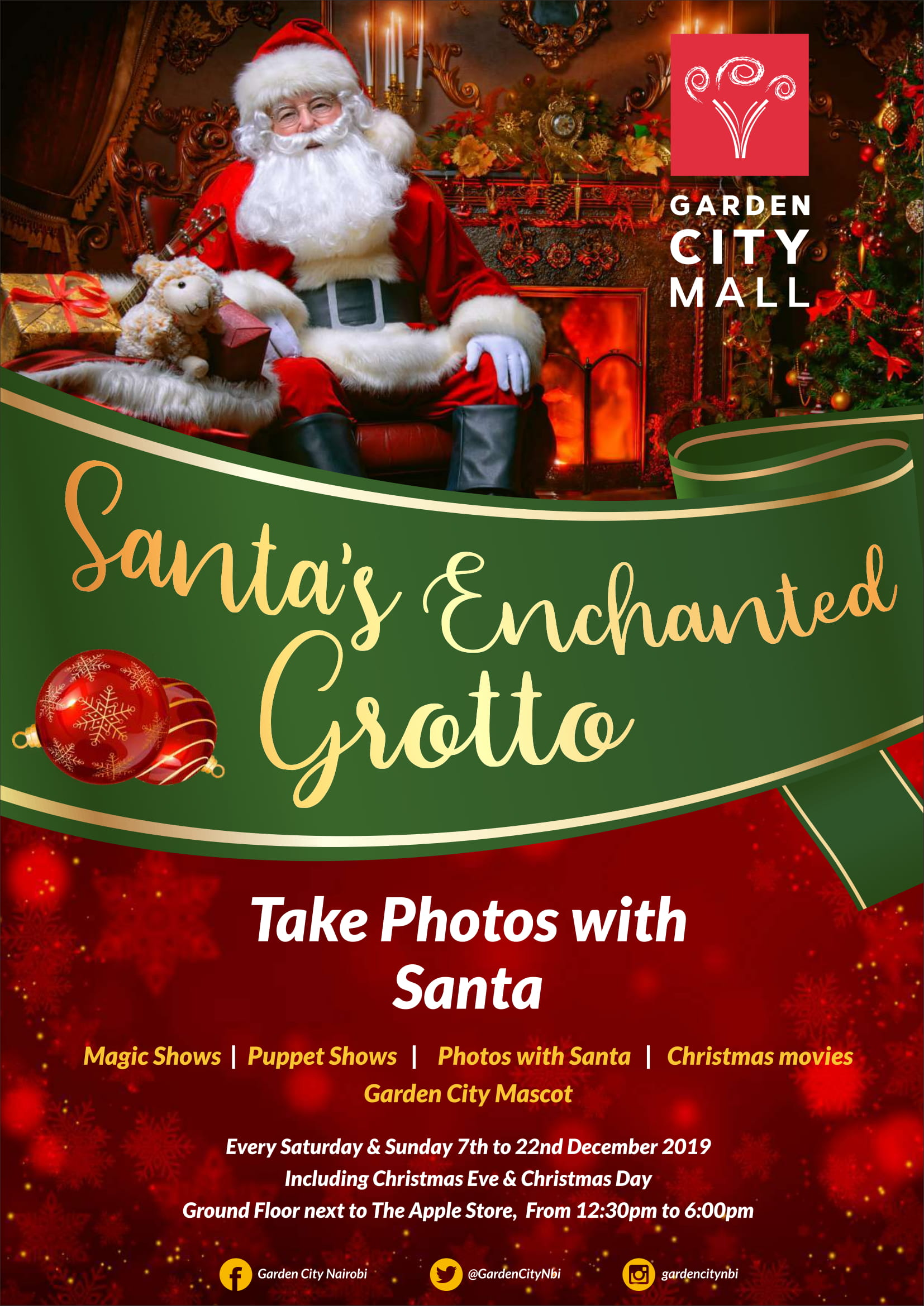Santa's Enchanted Grotto
