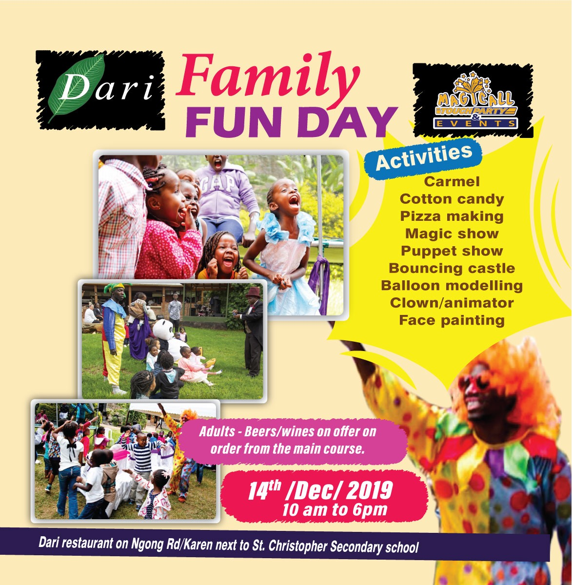 Dari Family Fun Day