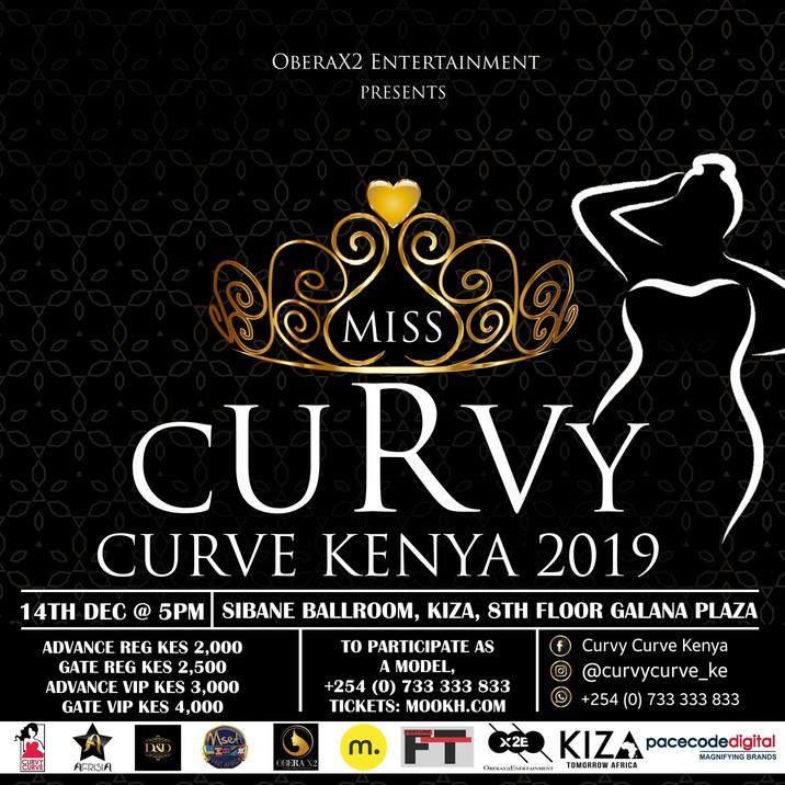 Miss Curvy Curve Kenya