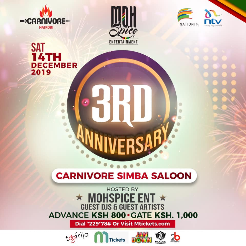 MohSpice Entertainment 3rd Anniversary