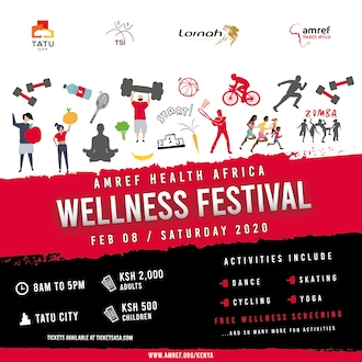 AMREF Health Africa Wellness Festival