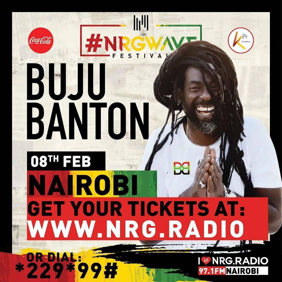 NRG Wave Festival Presents Buju Banton