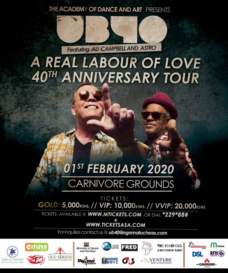 UB40-Labour Of Love Tour