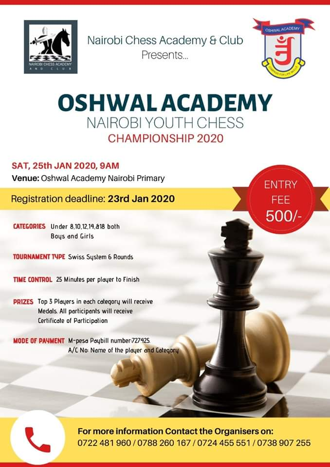 Oshwal Juinor Chess Championship