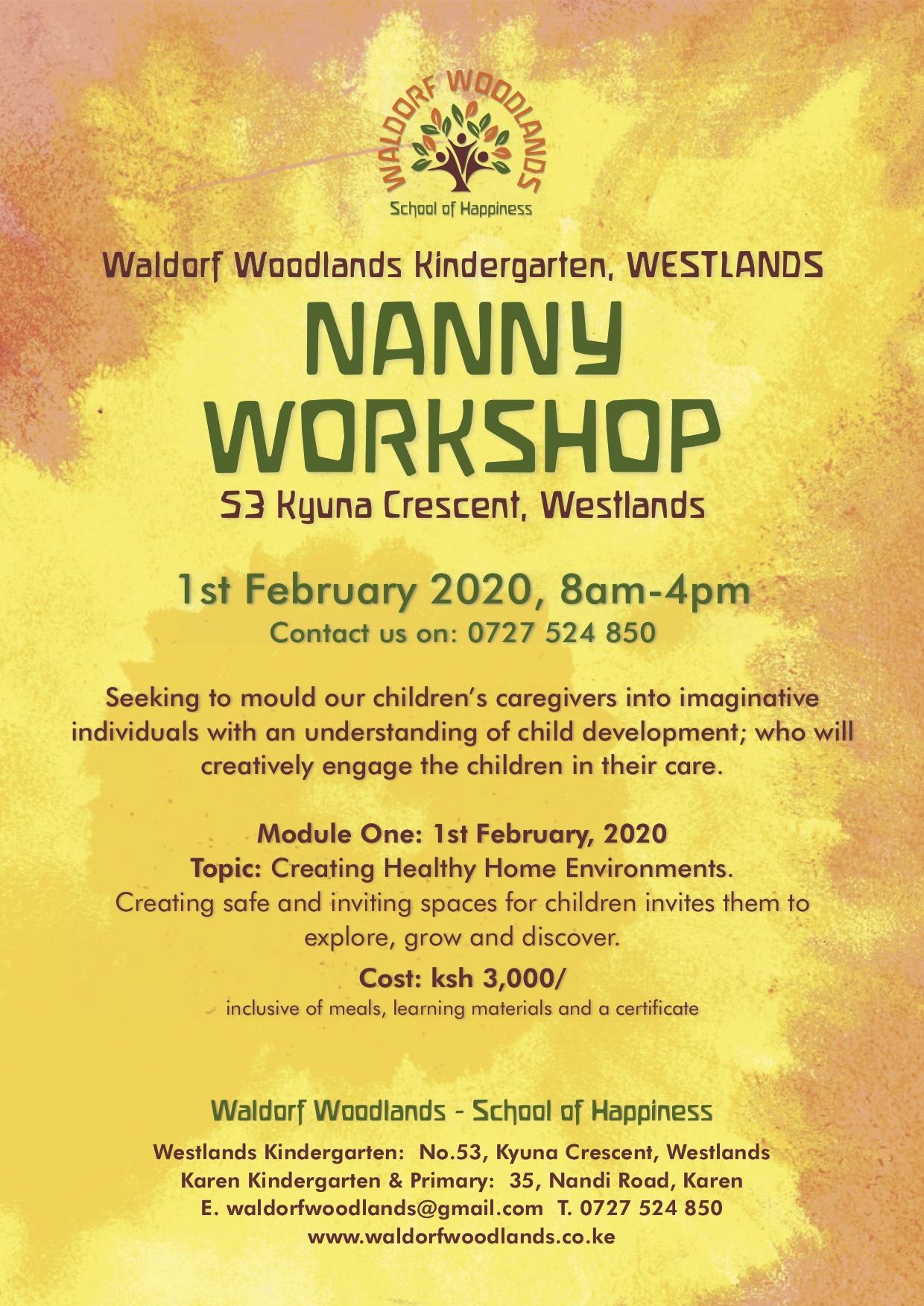 Nanny Workshop