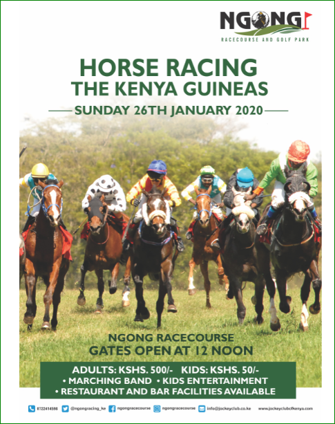 Horse Racing;The Kenya Guineas