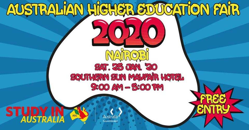 Australian Higher Education Fair January 2020, Nairobi